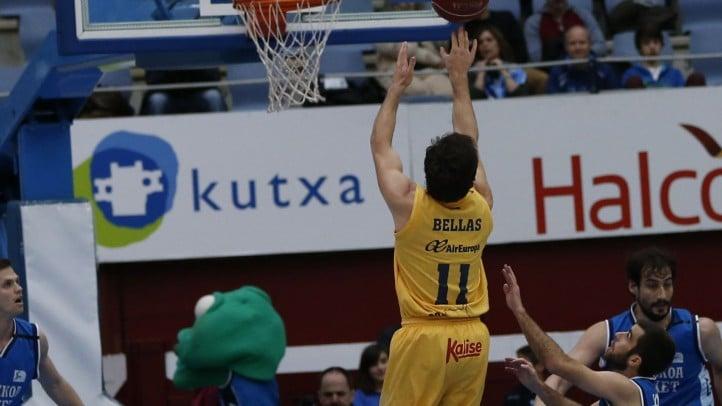 Resumen de la victoria contra el Gipuzkoa Basket