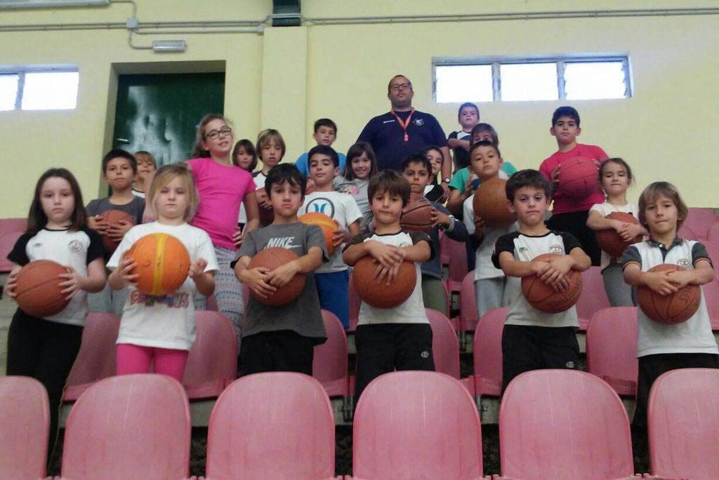 Escuela baloncesto colegio Alemán