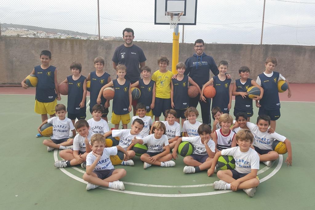 Colegio claret coraz n de mar a club baloncesto gran canaria - Colegio arquitectos canarias ...