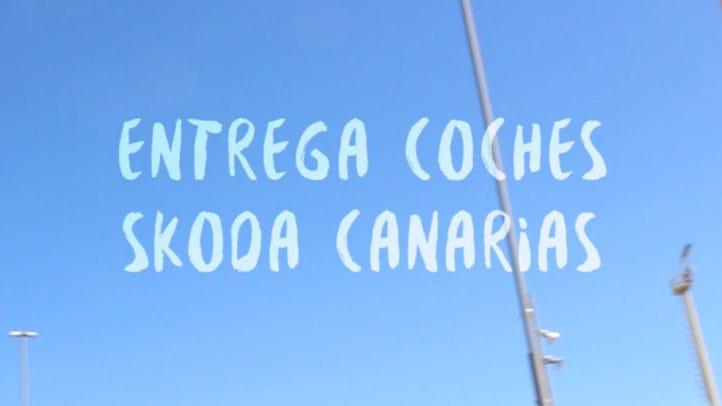 Entrega de coches SKODA Canarias