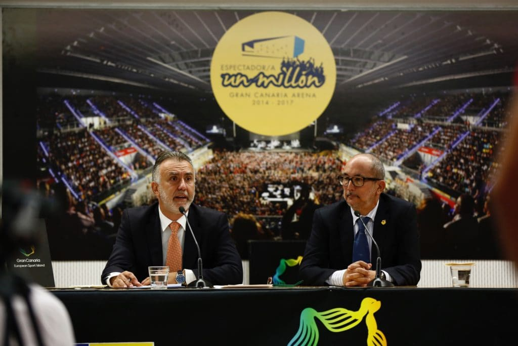 El Gran Canaria Arena espera, este domingo, al espectador un millón